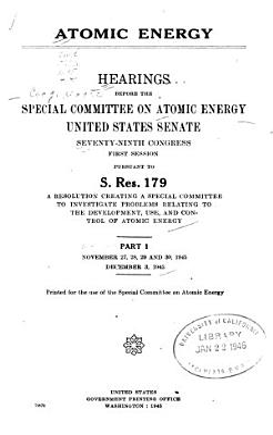 Atomic Energy Act of 1946 PDF