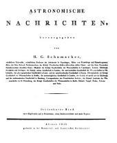 Astronomische Nachrichten: Volumes 13-15