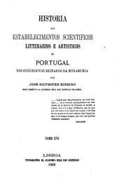 Historia dos estabelecimentos scientificos: 1860-1879