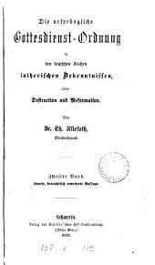 Liturgische Abhandlungen: Band 2