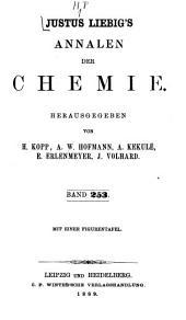 Justus Liebigs Annalen der Chemie: Band 253