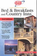 AAA Guide to North American Bed & Breakfasts and Country Inns