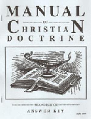 Manual of Christian Doctrine 2e Answer K PDF