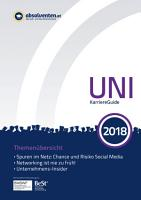 UNI KarriereGuide 2018 PDF