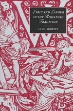Lyric and Labour in the Romantic Tradition