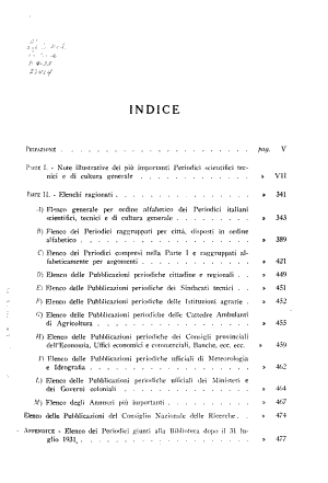 Periodici italiani scientifici tecnici e de cultura generale PDF