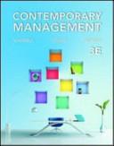 Contemporary Management Book PDF