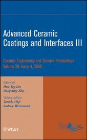 Advanced Ceramic Coatings and Interfaces III