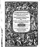 Compendium musicae latino-germanicum