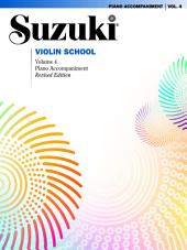 Suzuki Violin School - Volume 4 (Revised): Piano Accompaniment