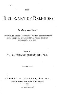 The Dictionary of Religion PDF