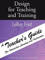 Design for Teaching and Training - A Teacher's Guide