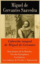 Colección integral de Miguel de Cervantes
