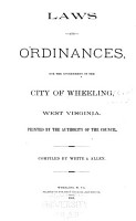 Laws and Ordinances for the Government of the City     PDF