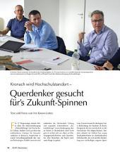 Neuer Studiengang: Zukunftsdesign: ECHT Oberfranken - Ausgabe 35
