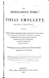 The Miscellaneous Works of Tobias Smollett