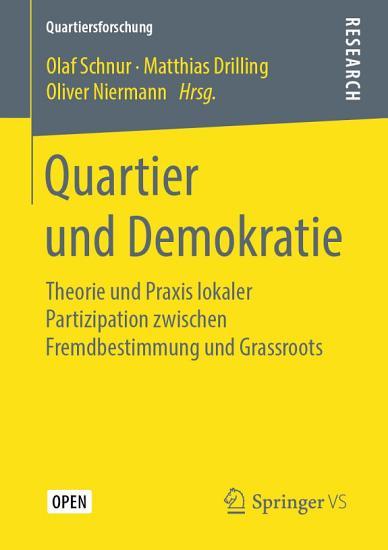 Quartier und Demokratie PDF