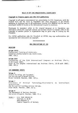 Bulletin   International Council on Archives PDF