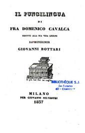 I pungilingua di D. Cavalca ridot rid. a sua vera lezione da Giov. Bottari