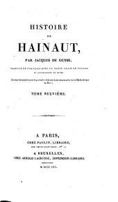 Histoire de Hainaut