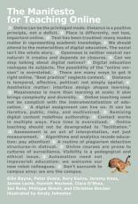 The Manifesto for Teaching Online PDF