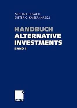 Handbuch Alternative Investments   PDF