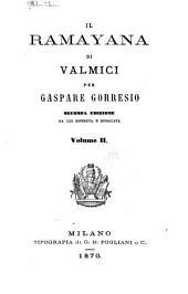 Il Ramayana di Valmici: Volume 2