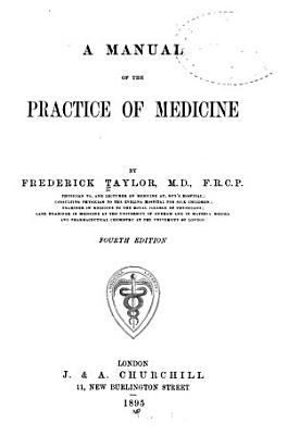 A Manual of the Practice of Medicine PDF