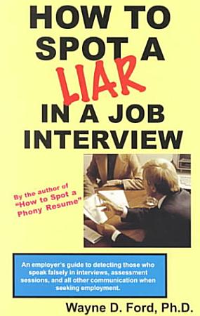 How to Spot a Liar in a Job Interview PDF