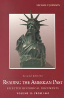 Reading The American Past Book PDF