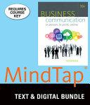 Business Communication   Mindtap Business Communication  6 month Access PDF