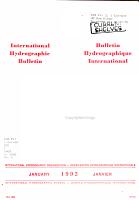 Bulletin Hydrographique International PDF