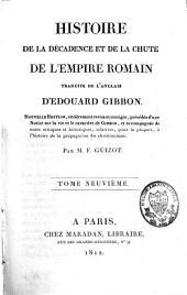 Histoire de la décadence et de la chute de l'Empire romain: Volume9