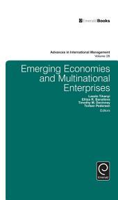 Emerging Economies and Multinational Enterprises