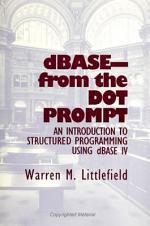 DBASE - From the Dot Prompt