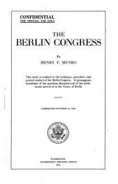 The Berlin Congress