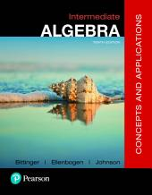 Intermediate Algebra: Concepts and Applications, Edition 10
