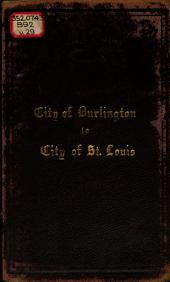 Annual Report of the City of Burlington: Volume 29