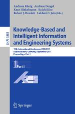 Knowledge-Based and Intelligent Information and Engineering Systems, Part I
