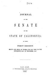 Journal of the Senate of the State of California