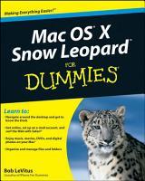 Mac OS X Snow Leopard For Dummies PDF
