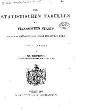 Die statistischen tabellen des preussischen staats nach der amtlichen aufnanme des jahres 1843