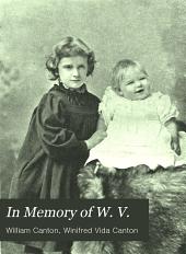 In Memory of W.V.