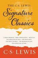 The C  S  Lewis Signature Classics