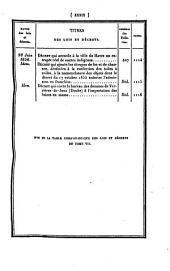 Bulletin des lois de la Republique Francaise: Volume11;Volume1851;Volumes1856à1857