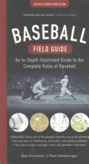 Baseball Field Guide Book