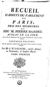 Recueil d'arrêts du Parlement de Paris