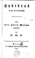 Hudibras PDF