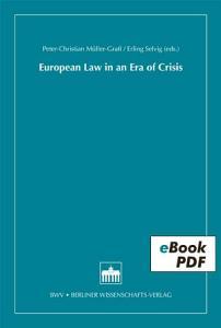 European Law in an Era of Crisis PDF