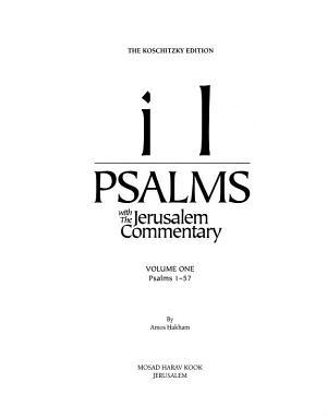 Psalms with the Jerusalem Commentary  1 57